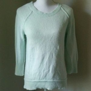 Cynthia Rowley : Angora Rabbit Mint Sweater S
